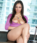 Pic of Bethany Benz in blowjobfridays episode: 3 Dicks 1 Benz!!