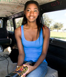 Pic of Santi in bangbus episode: She Just Loves The Attention!!