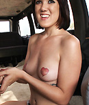 Pic of Nina Heart in bangbus episode: Queen Of Hearts!!!