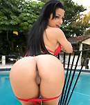 Pic of Abella Anderson in assparade episode: Abella Anderson Gets Two Cocks