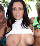 Pic of Melina Mason in bigtitsroundasses episode: Bouncing titties