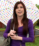 Pic of Annie in bangbus episode: Fuck Me and My Damien Hirst Umbrella