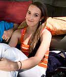 Pic of Vanessa Renee in bangbus episode: Brunette Takes A Big Dick On The BangBus