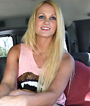 Pic of Summer Blue in bangbus episode: Hot threesome with some amateurs on BangBus