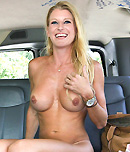 Pic of Avona Dominica in bangbus episode: Amateur Blonde Pussy Squirts From A Good Fucking!