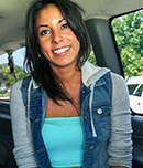 Pic of Bethany in bangbus episode: Anal loving nympho found on BangBus