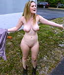 Pic of Kara Lee in bangbus episode: Big Tit Blonde Tricked and Fucked