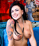 Pic of Eva Angelina in bigmouthfuls episode: Eva Loves Cum Cum