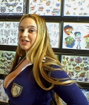 Pic of April Mckenzie in bigtitsroundasses episode: The Tattoo Shop