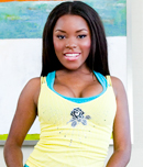 Pic of Candice Nicole in brownbunnies episode: Candice Nicole's Sweet Ebony Ass!