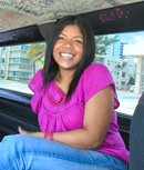Pic of Widdow in bangbus episode: One Sexy Morena!