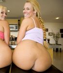 Pic of Valerie in assparade episode: All That ASS! w/ Skyla Paris & Valerie