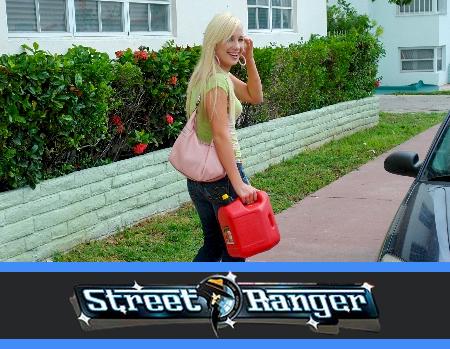 Street ranger waiting for some sex